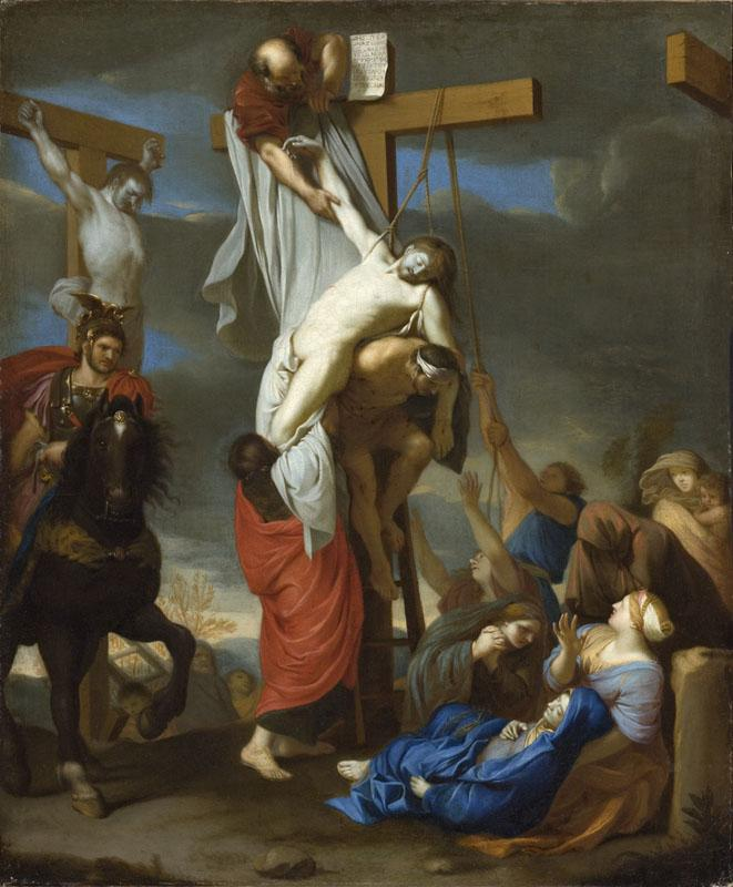 Charles Le Brun - The Descent from the Cross