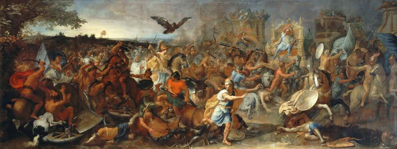 Charles Le Brun -- Battle of Arbella