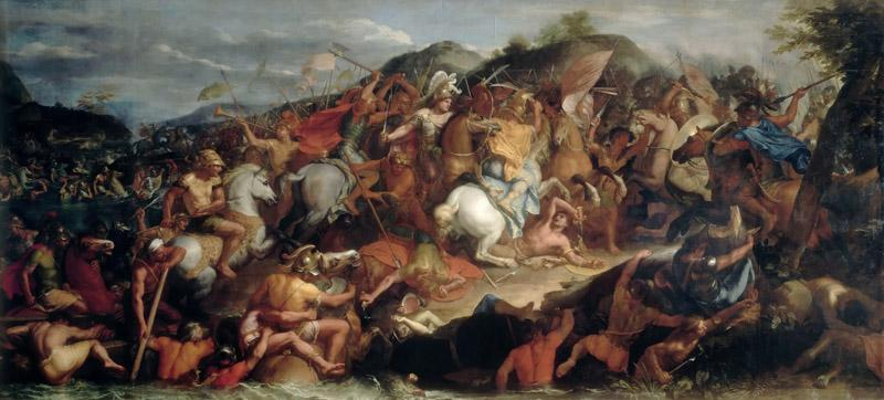 Charles Le Brun -- Crossing the Granicus