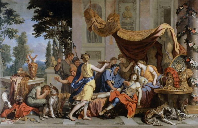 Charles Le Brun -- Death of Meleager