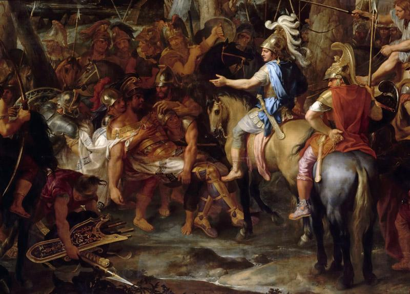 Charles Le Brun -- Defeat of Porus