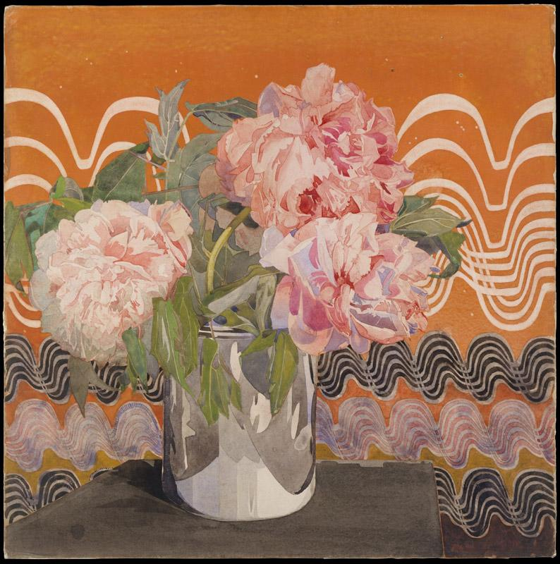 Charles Rennie Mackintosh--Peonies