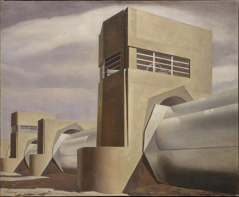 Charles Sheeler--Water