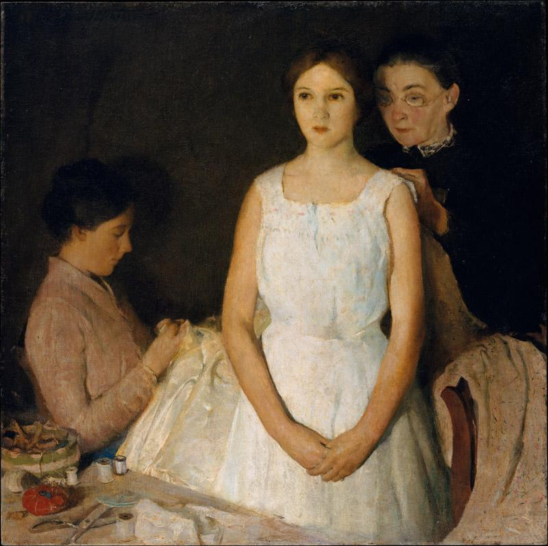 Charles Webster Hawthorne--The Trousseau