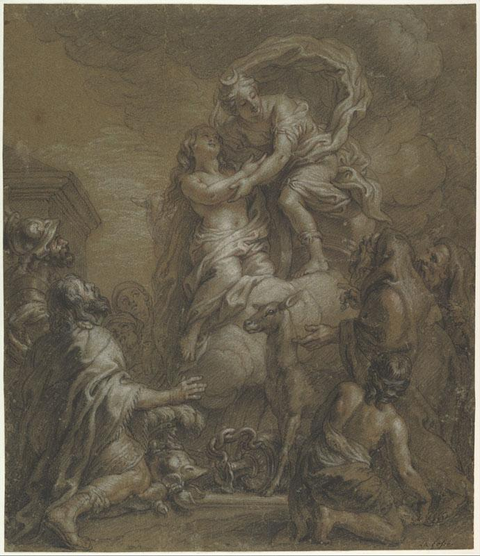 Charles de La Fosse--Sacrifice of Iphigenia