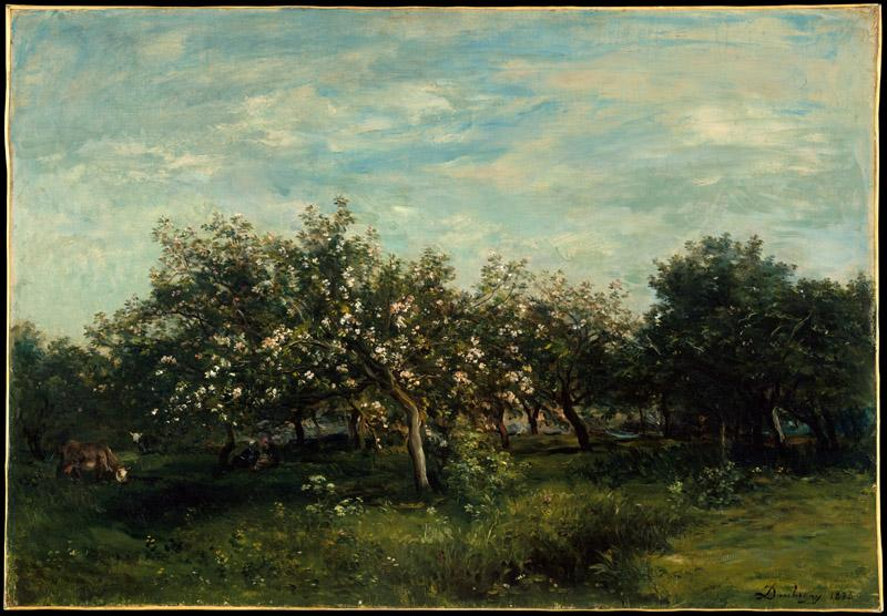 Charles-Francois Daubigny--Apple Blossoms