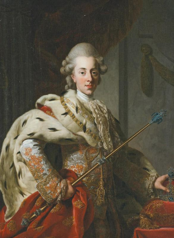 Christian VII 1772 by Roslin