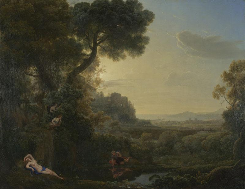 Claude - Landscape with Narcissus and Echo