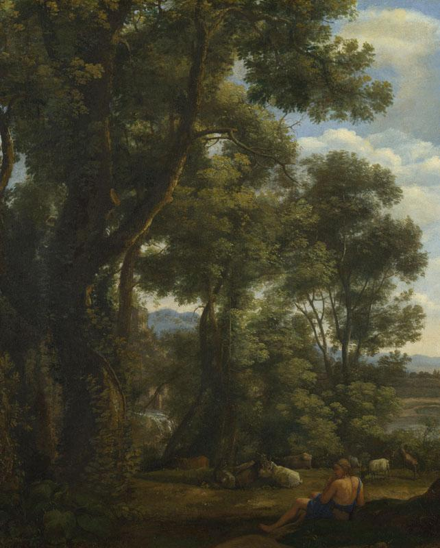 Claude - Landscape with a Goatherd and Goats