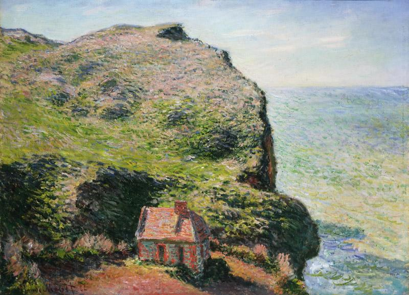Claude Monet, French, 1840-1926 -- Customhouse, Varengeville