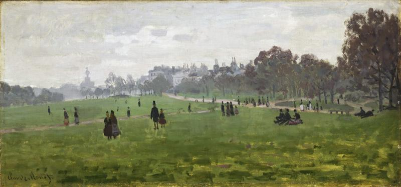 Claude Monet, French, 1840-1926 -- Green Park, London