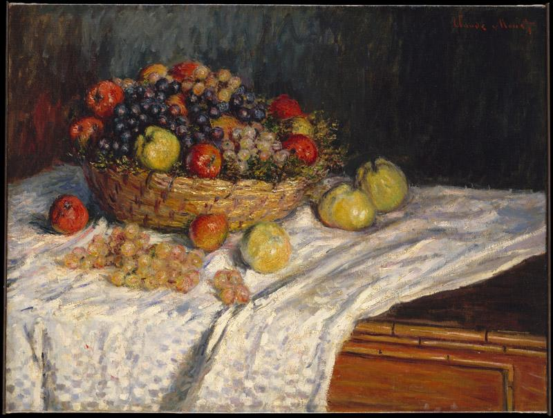 Claude Monet--Apples and Grapes