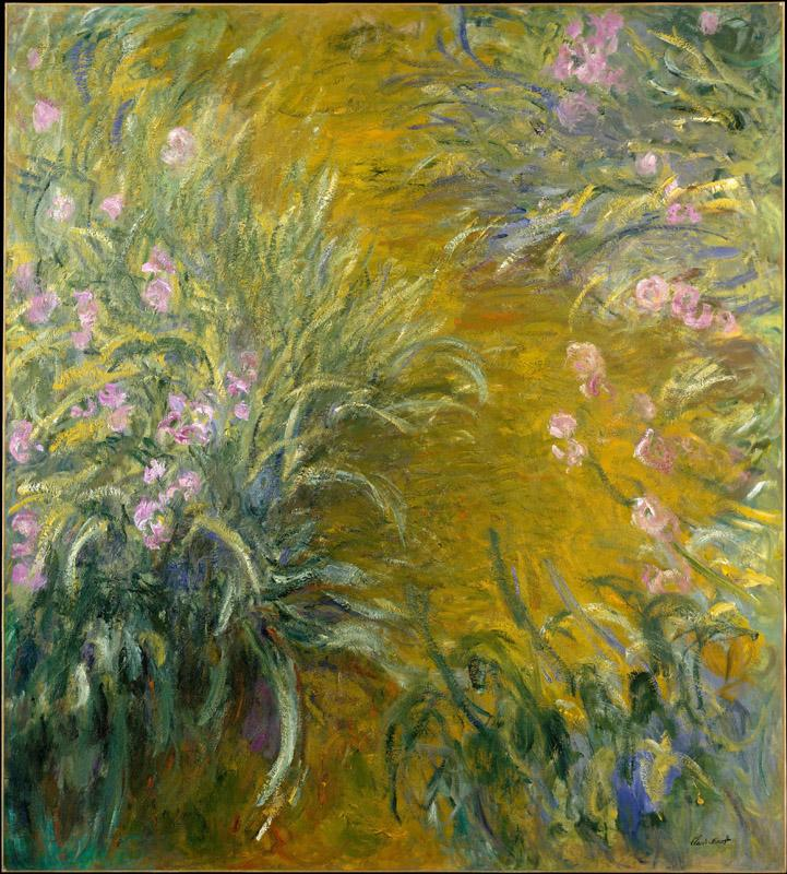 Claude Monet--The Path through the Irises