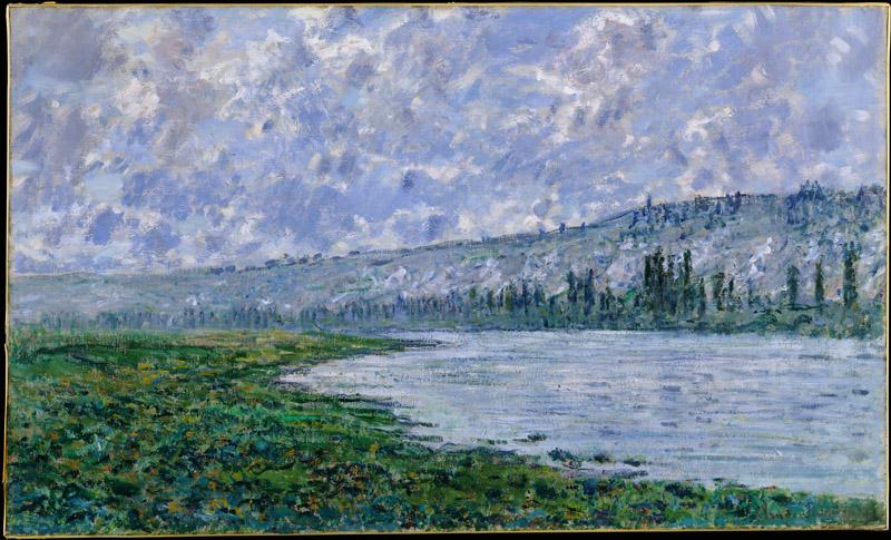 Claude Monet--The Seine at Vetheuil