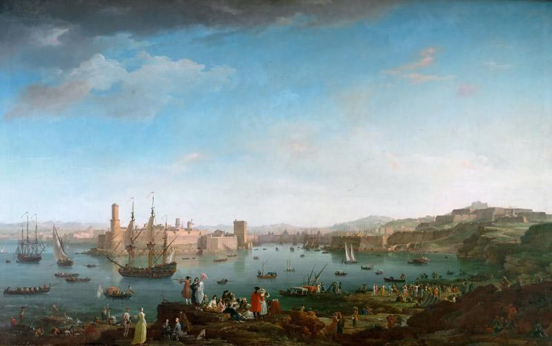 Claude-Joseph Vernet -- Entrance of the Port of Marseille