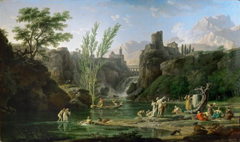 Claude-Joseph Vernet -- Morning, Bathers