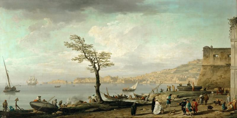 Claude-Joseph Vernet -- View of the Gulf of Naples