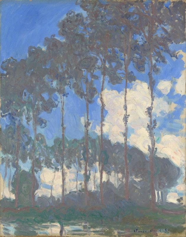 Claude-Oscar Monet - Poplars on the Epte