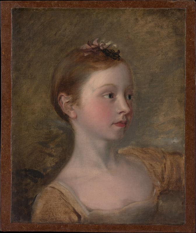 Copy after Thomas Gainsborough--The Painter Daughter Mary (1750-1826)