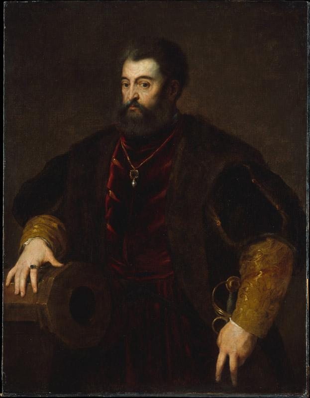 Copy after Titian--Alfonso d Este (1486-1534), Duke of Ferrara
