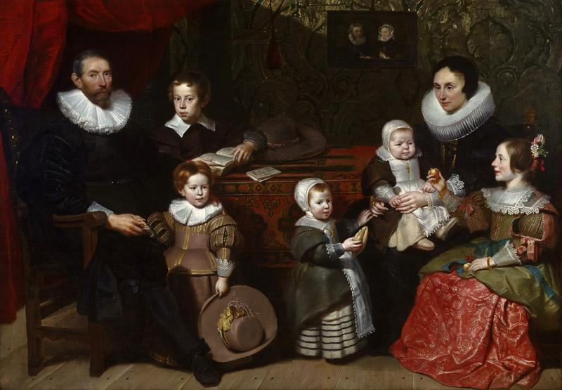 Cornelis de Vos, Flemish (active Antwerp), 1584-85-1651 -- Portrait of Anthony Reyniers and His Family