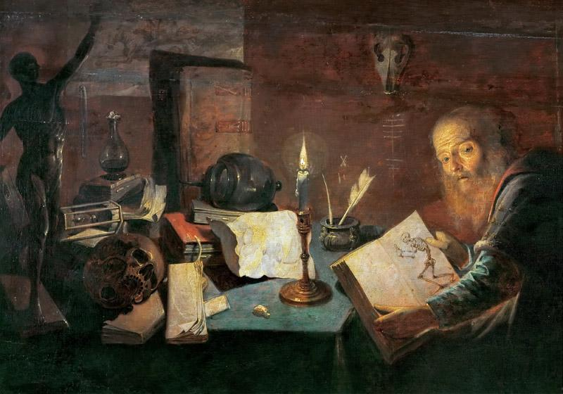 David Ryckaert III (1612-1662) -- The Alchemist