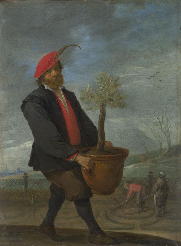 David Teniers the Younger - Spring