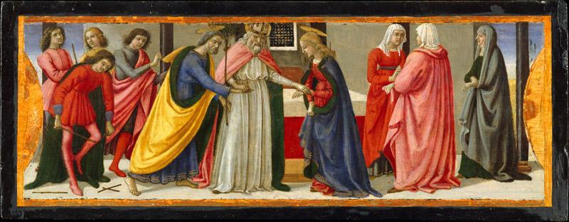Davide Ghirlandaio--The Marriage of the Virgin