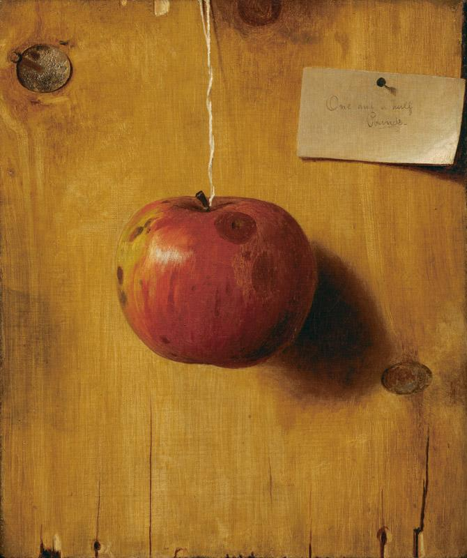 De Scott Evans - Still Life with Apple, ca. 1890