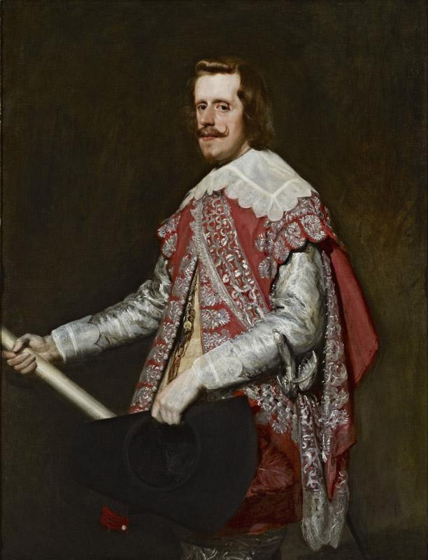 Diego Rodriguez de Silva y Velazquez - King Philip IV of Spain, 1644