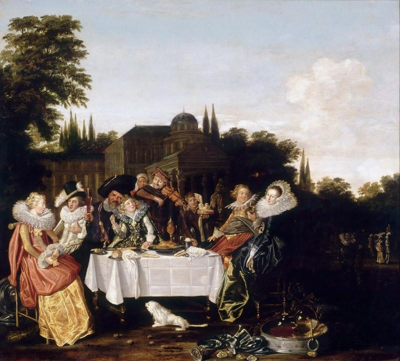 Dirck Hals -- Banquet in the Country