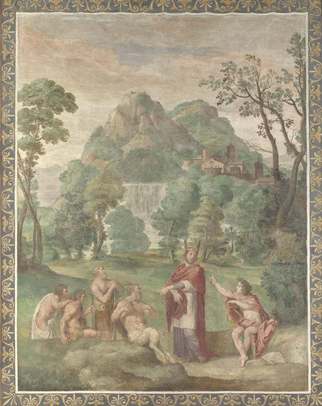 Domenichino and assistants - The Judgement of Midas