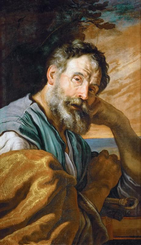 Domenico Fetti -- Saint Peter Repenting
