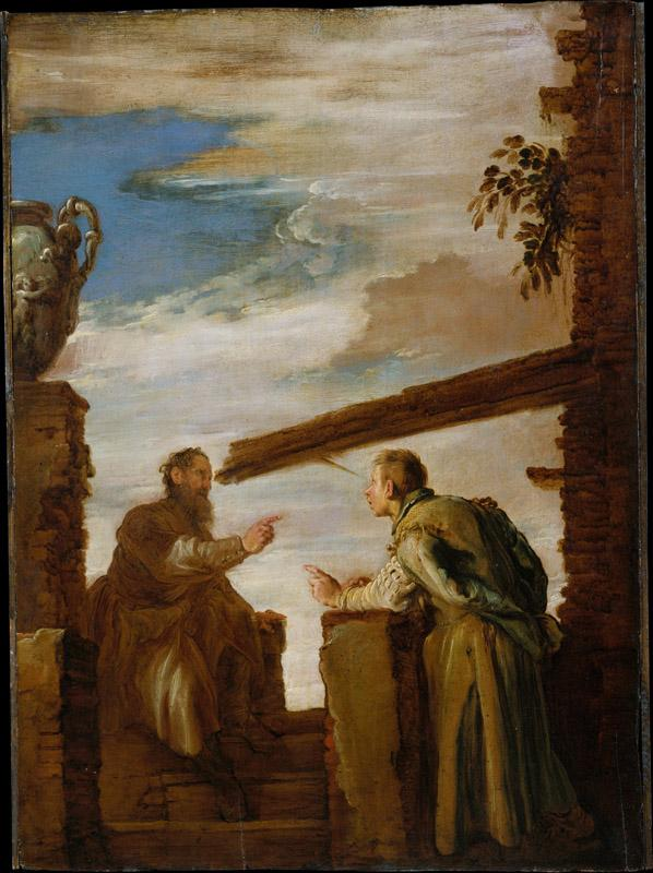Domenico Fetti--The Parable of the Mote and the Beam