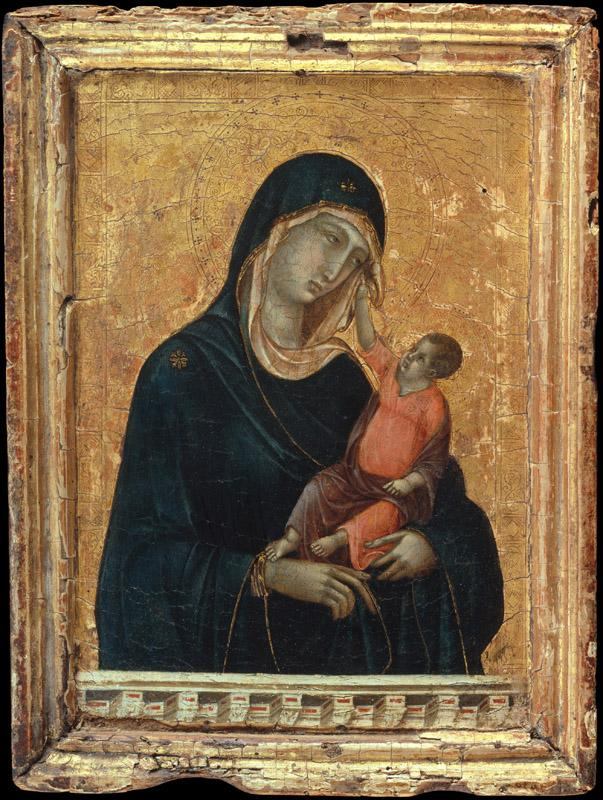 Duccio di Buoninsegna--Madonna and Child