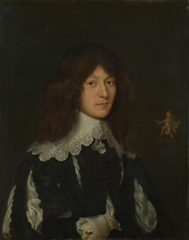 Dutch - Portrait of a Young Man in Black