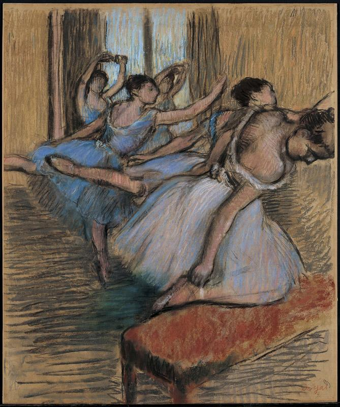 Edgar Degas--The Dancers