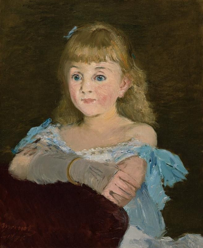 Edouard Manet - Portrait of Lise Campineanu, 1878