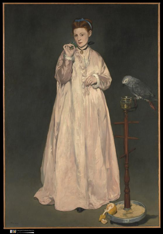 Edouard Manet--Young Lady in 1866