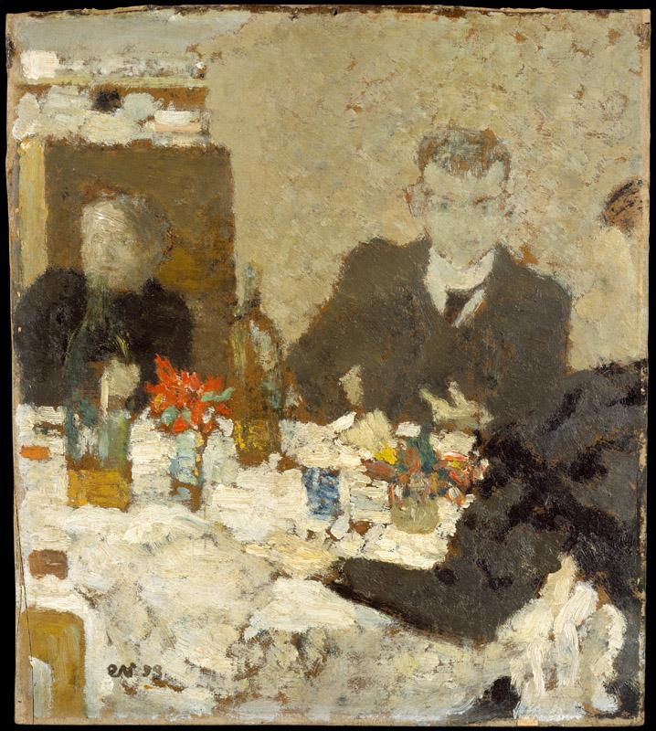 Edouard Vuillard--At Table