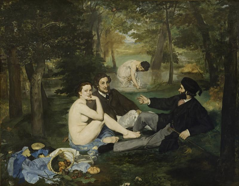 Edouard Manet - Luncheon on the Grass