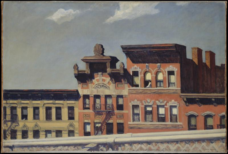 Edward Hopper--From Williamsburg Bridge