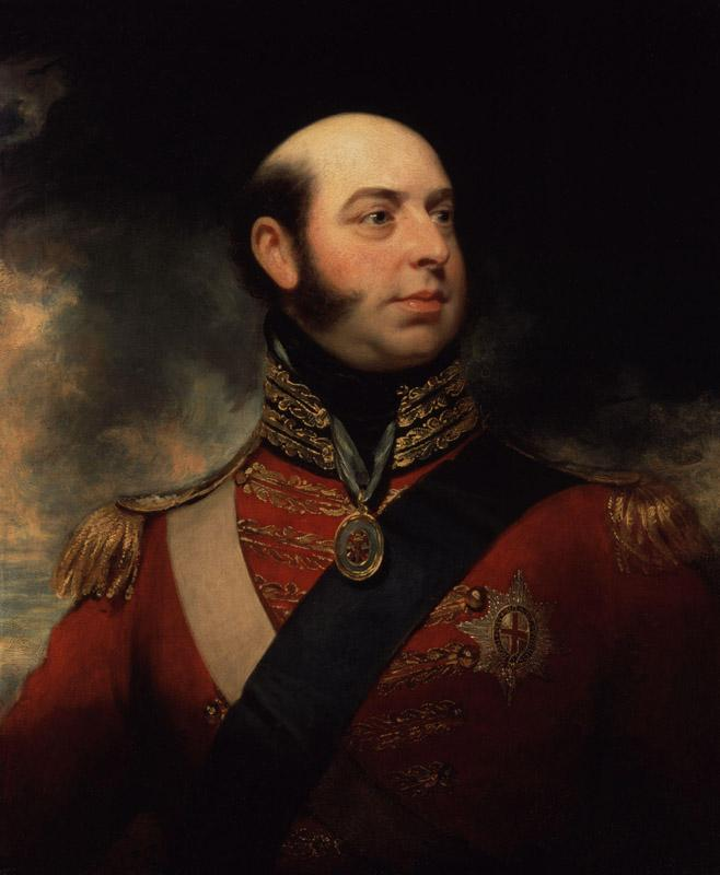 Edward, Duke of Kent and Strathearn by Sir William Beechey