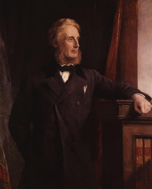 Edward Cardwell, Viscount Cardwell by George Richmond