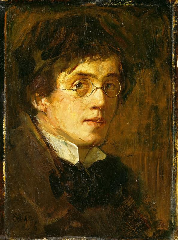 Eilif Peterssen - Self-Portrait