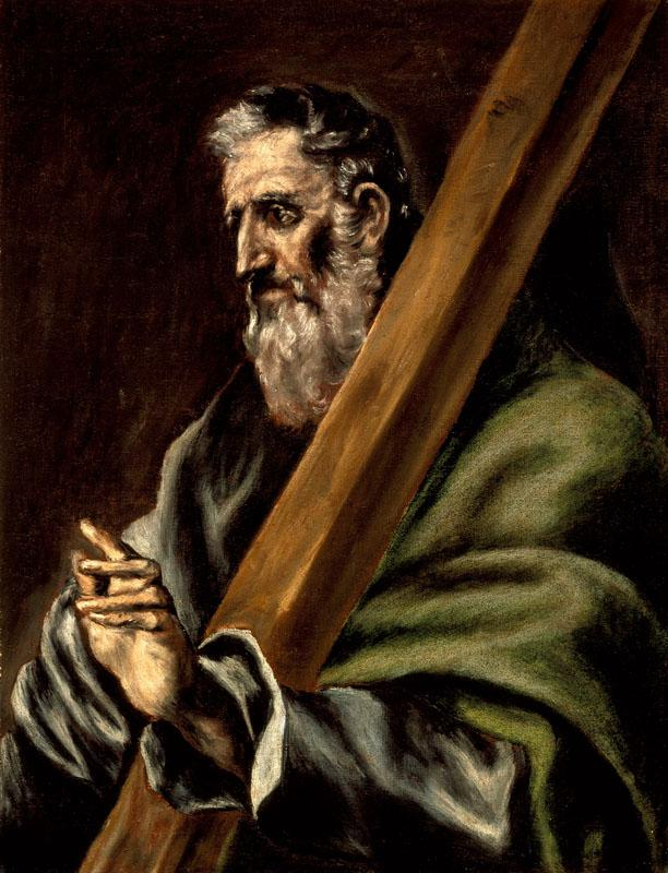 El Greco (school of) - The Apostle St