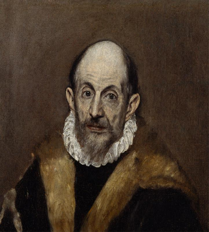 El Greco--Portrait of a Man