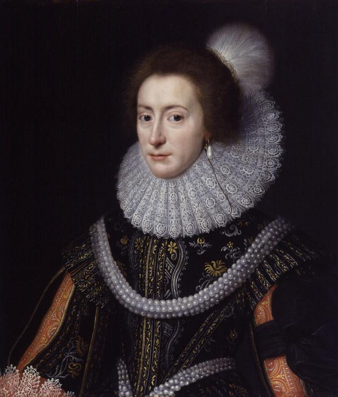 Elizabeth, Queen of Bohemia by Michiel Jansz