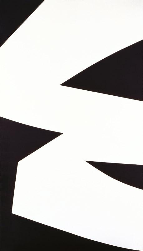 Ellsworth Kelly - White Black, 1960
