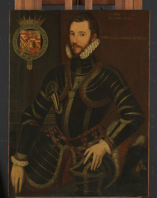 English Painter--Walter Devereux (1539-1576), First Earl of Essex